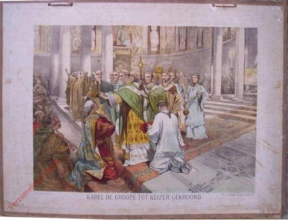 Eerste serie, No. 2 - Karel de Groote tot Keizer gekroond