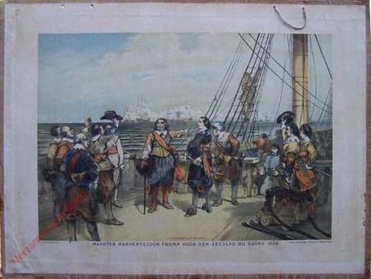Eerste serie, No. 10 - Maarten Harpertszoon Tromp voor den Zeeslag bij Duins, 1639