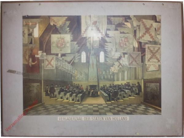 Eerste serie, No. 11 - De Vergadering der Staten van Holland (Binnenhof)