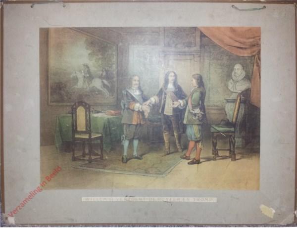Eerste serie, No. 12 - Willem III verzoent De Ruyter en Tromp