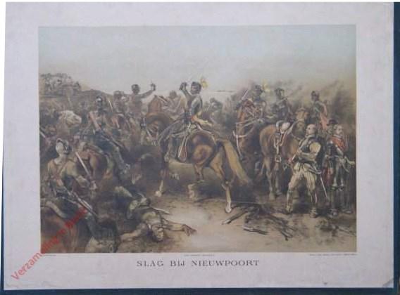 Tweede serie, No. 18 - Slag bij Nieuwpoort