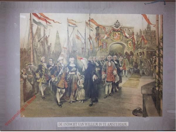 Tweede serie, No. 23 - De Intocht van Willem IV te Amsterdam