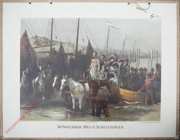 Tweede serie, No. 24 - 30 November 1813 te Scheveningen
