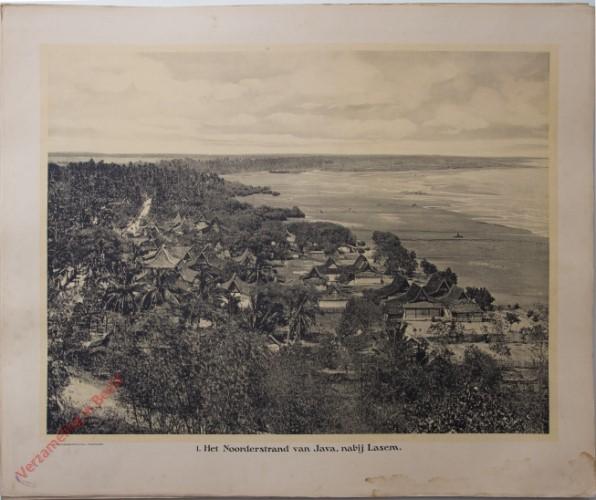 1 - Het Noorderstrand van Java, nabij Lasem.