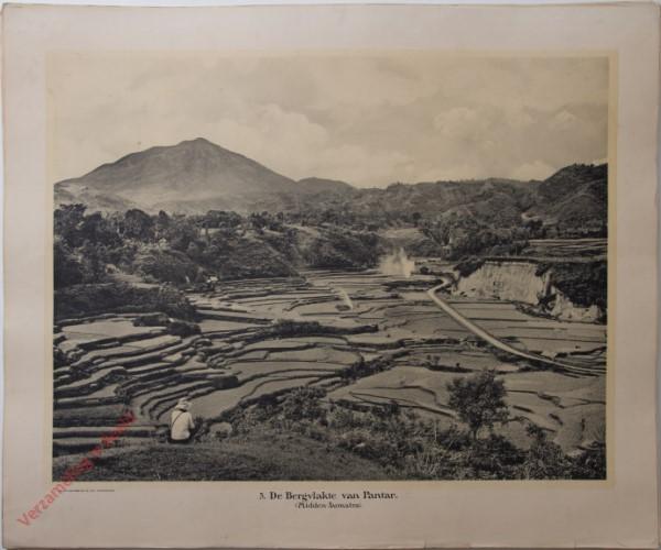 5 - De bergvlakte van Pantar. (Midden-Sumatra)