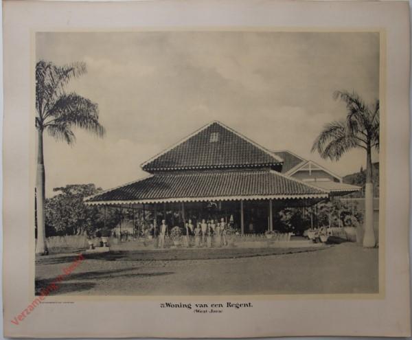 21 - Woning van een Regent. (West-Java)