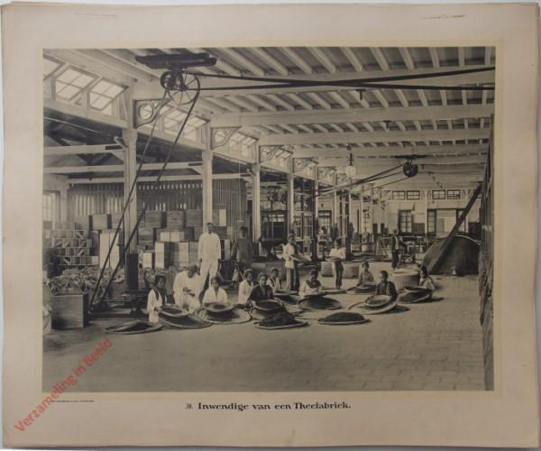 38 - Inwendige van een theefabriek