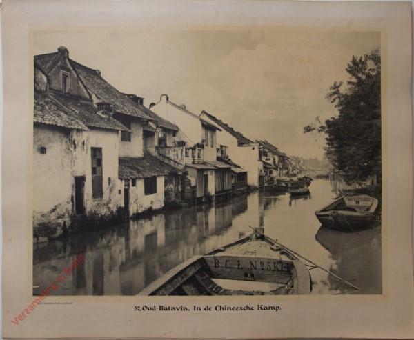 52 - Oud-Batavia. In de Chineesche Kamp.