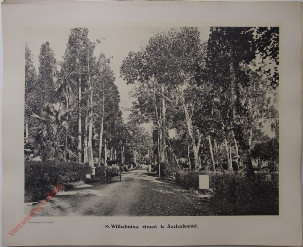55 - Wilhelminastraat te Soekaboemi