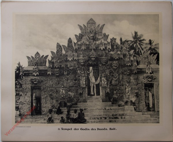 71 - Tempel der Godin des Doods. (Bali)