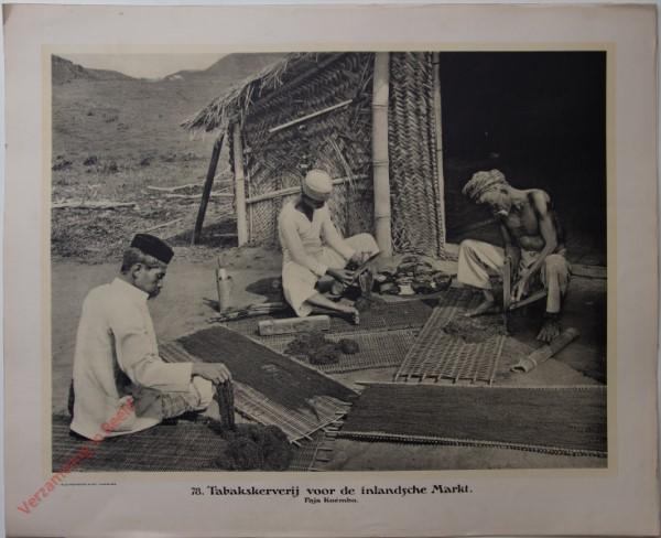 78 - Tabakskerverij voor de inlandsche Markt. Paja Koémbo.