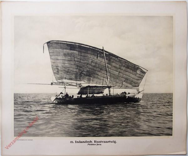 85 - Inlandsche Kustvaartuig. (Midden-Java)