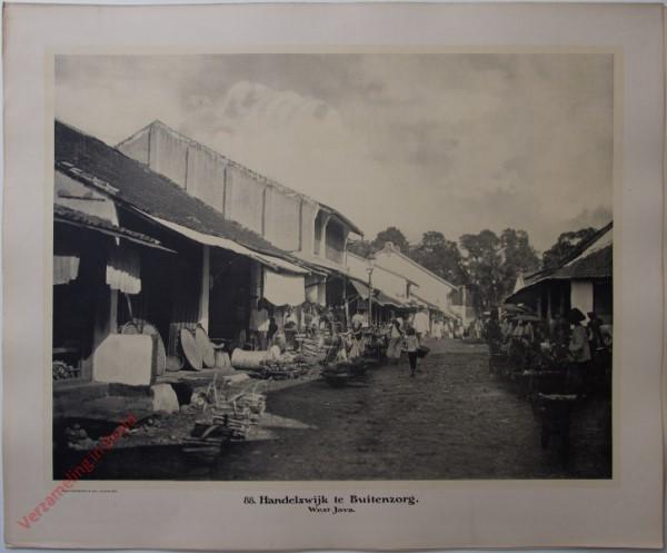 88 - Handelswijk te Buitenzorg. (West-Java)