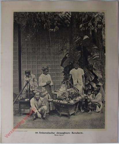 89 - Inlandsche draagbare Keuken. (West-Java)