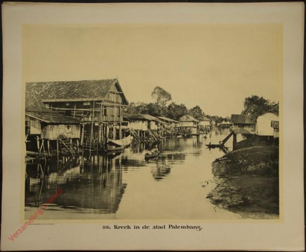 106 - Kreek in de stad Palembang