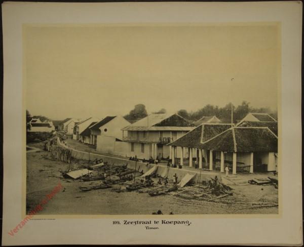 109 - Zeestraat te Koepang. (Timor)