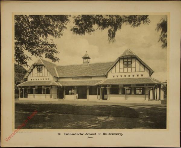131 - Inlandsche School te Buitenzorg. (Java)