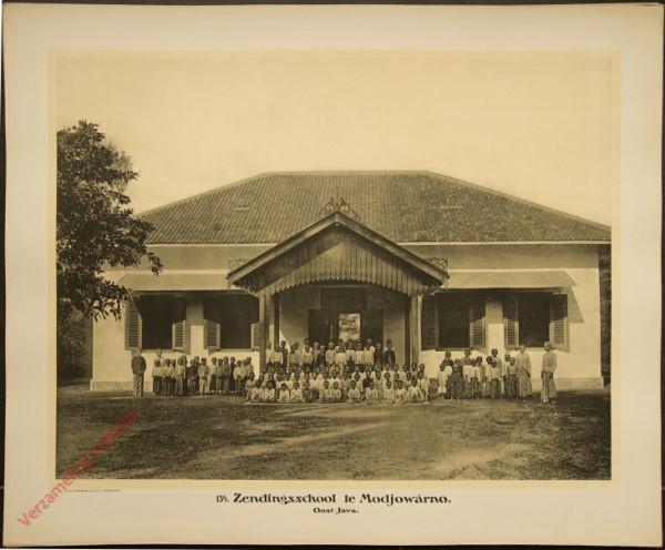 134 - Zendingsschool te Modjowarno. (Oost-Java)