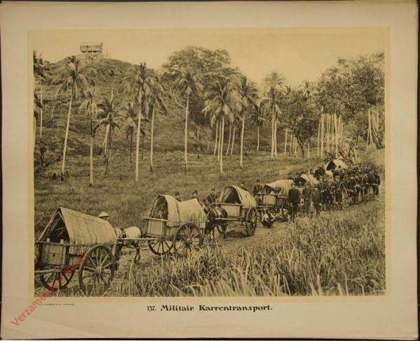 137 - Militair Karrentransport.