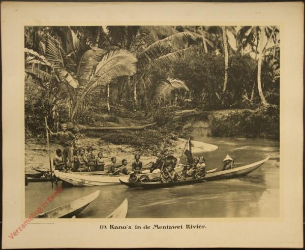 139 - Kano's in de Mentawei Rivier