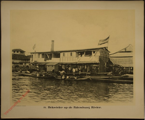 141 - Hekwieler op de Palembang Rivier