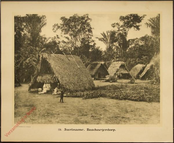 158 - Suriname. Boschnegerdorp