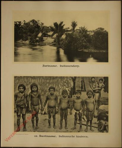 159 - Suriname. Indianendorp. Indiaansche kinderen