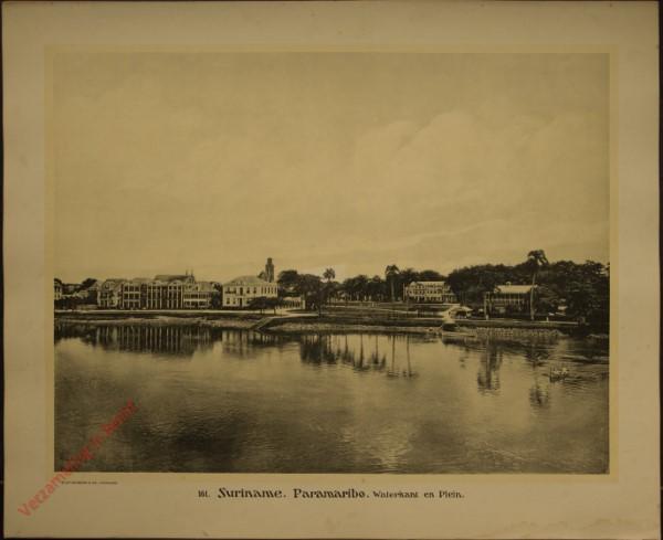161 - Paramaribo. Waterkant en Plein