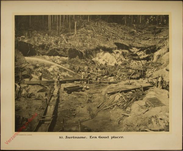 165 - Suriname. Een goud Placer