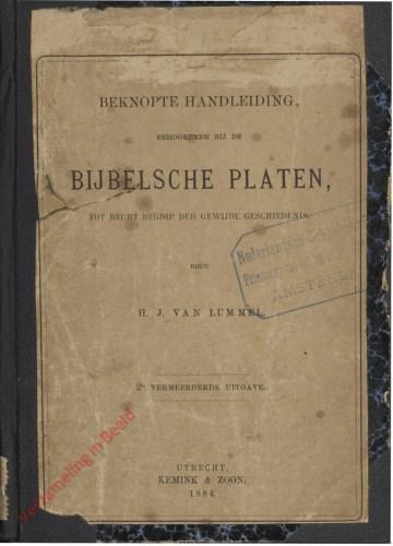 2e druk - Handleiding bij de Bijbelsche platen