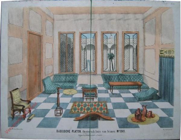 No. XVII - Oostersch huis van binnen