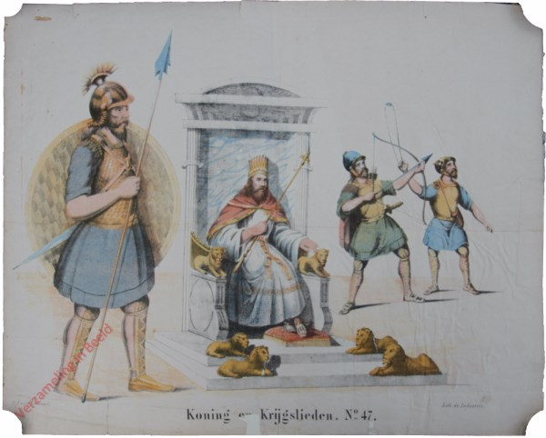 No. 47 - Koning en Krijgslieden
