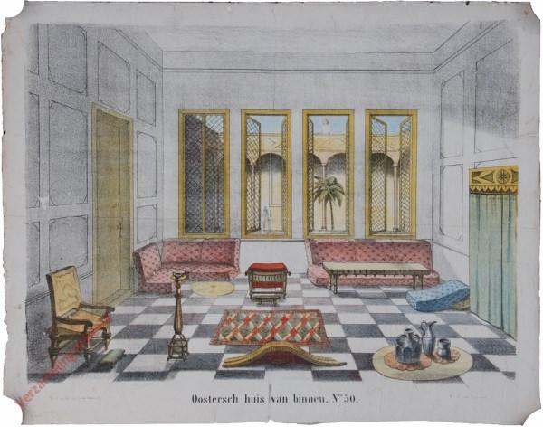 No. 50 - Oostersch huis van binnen
