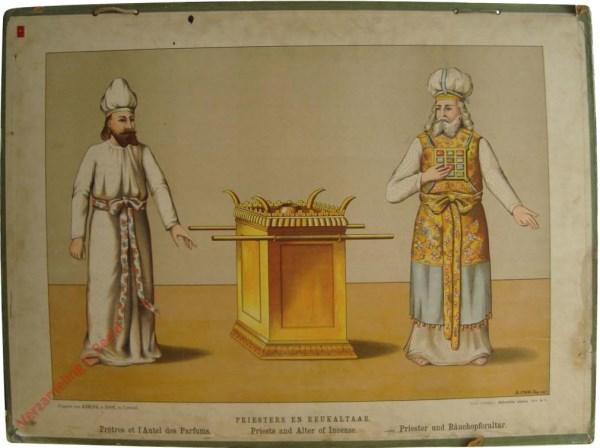 Serie A. VI - Priesters en reukaltaar
