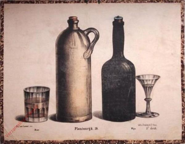Eerste reeks. No. 16 [1e druk] - Plantenrijk. Bier. Wijn