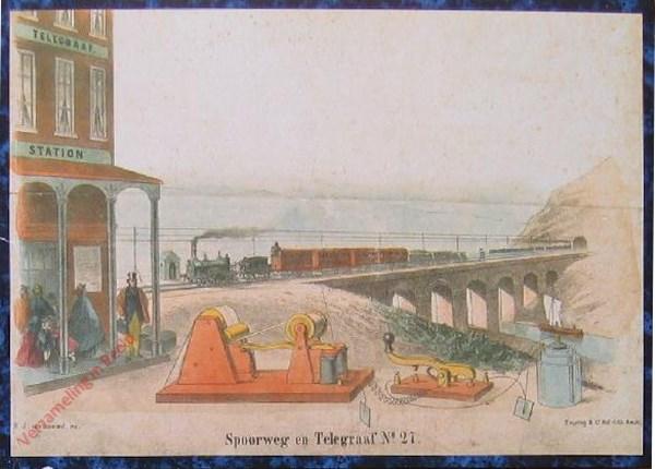 Tweede reeks. No. 27 [1e druk] - Spoorweg en Telegraaf