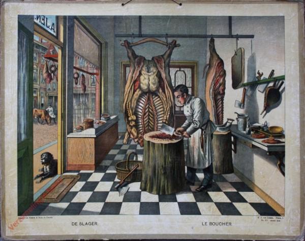 Serie I. No. XV. [var T1] - De slager. Le boucher