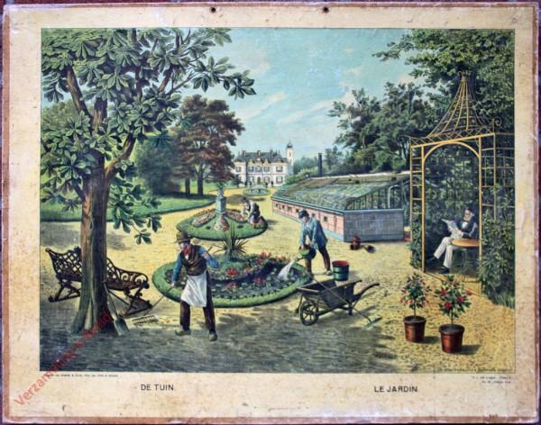 Serie II. No. III. [var T1] - De tuin. Le jardin