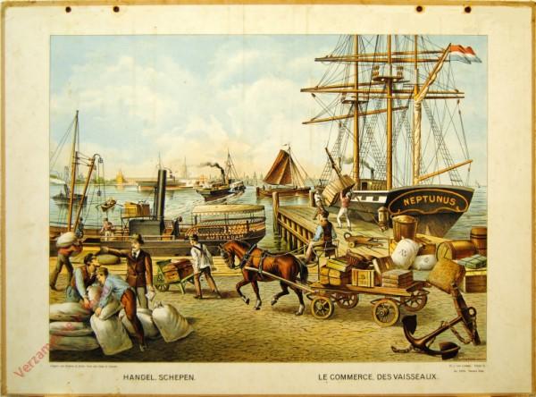Serie II. No. XXVI. [var T1] - Handel, Schepen. Le commerce des vaisseaux
