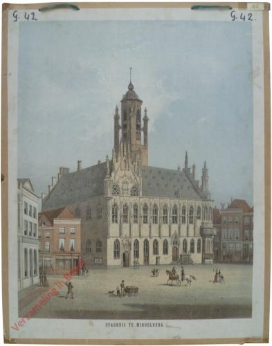 Stadhuis te middelburg