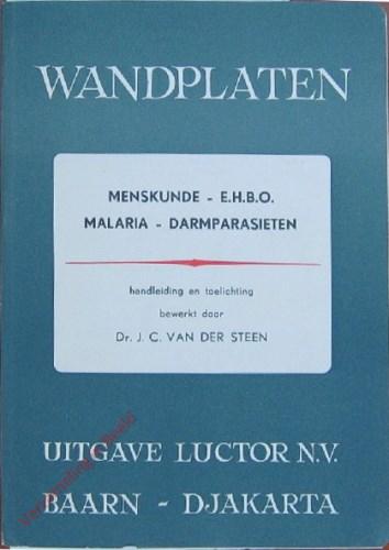 Catalogus Wandplaten menskunde - E.H.B.O. - Malaria - Darmparasieten