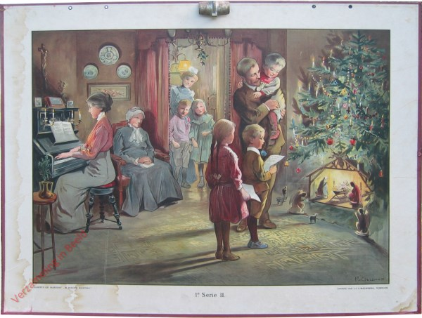 1e Serie, 2 - Kamer met kerstkribbe [1e druk]