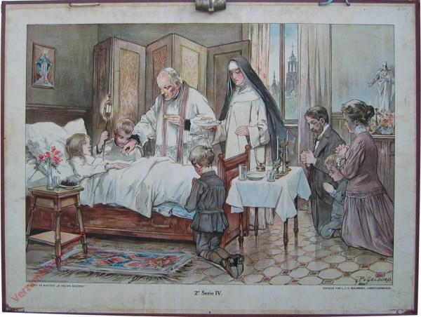 2e Serie, 4 - Bij 't ziekbed van een kind (bediening)