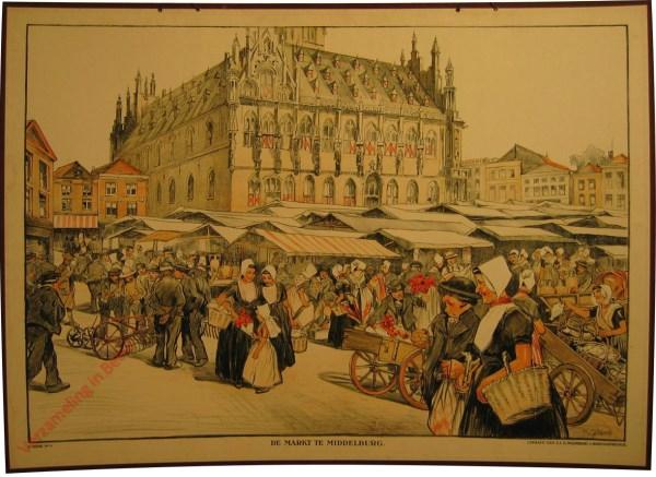 1e serie, 4 - De markt te Middelburg