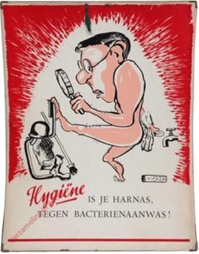 Hygi�ne is je harnas tegen bacterieaanwas!