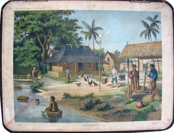 1 - Latar - Een Javaansch erf I - Pomakan
