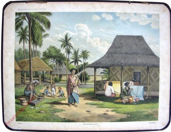 2 - Latar - Een Javaansch erf II - Pomakan