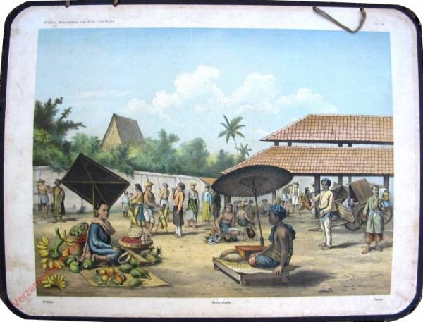 8 - Pekán - Eene markt - Pasar