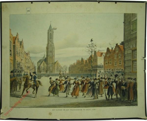 Het dansen om den vrijheidsboom 1796