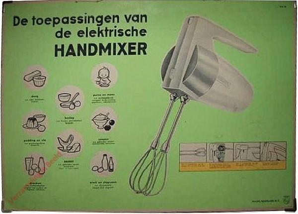De toepassingen van de elektische handmixer